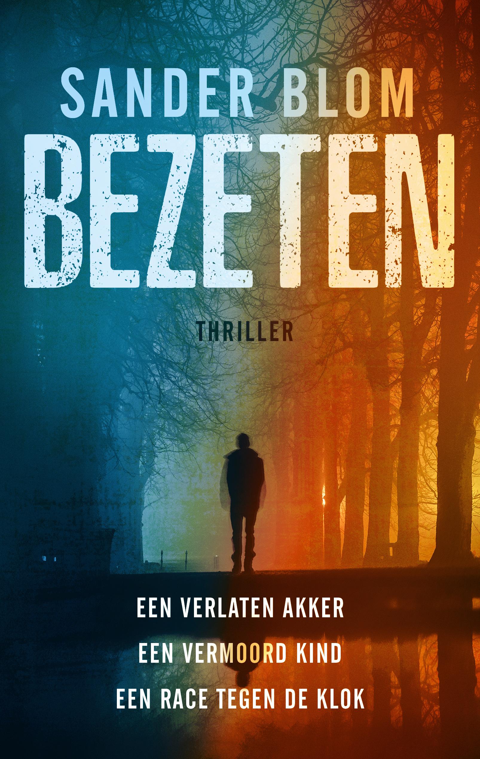 Boekomslag Bezeten - Sander Blom - Loft Books